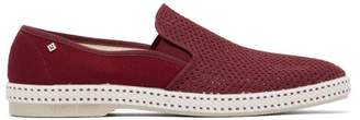 Rivieras Classic 20 Canvas Loafers - Mens - Burgundy