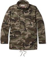 Nonnative Tropper Camouflage-print Gore Windstopper® Cotton-canvas Jacket