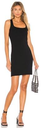Bobi Modal Spandex Rib Bodycon Mini Dress