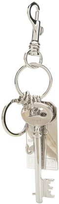 MM6 MAISON MARGIELA Multiple Charm Keyring