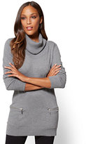New York & Co. Cowl-Neck Tunic Sweater