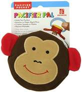J L Childress Pacifier Pal Pacifier Pocket, Monkey by