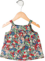 Bonpoint Girls' Sleeveless Floral Top