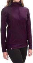 Ibex Woolies 3 Hooded Base Layer Top - Zip Neck, Long Sleeve (For Women)
