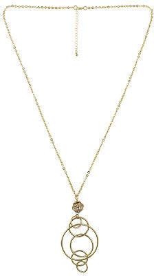 Bijoux Bar Cable Pendant Necklace