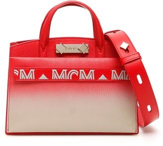 MCM Top Handle Tote Bag