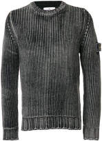 Stone Island Frosted Cable Knit Sweater