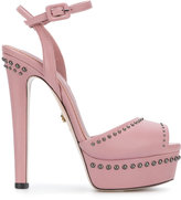Le Silla open-toe studded sandals