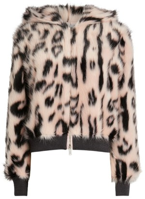 Stella McCartney Faux-Fur Bomber Jacket