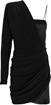 GAUGE81 Saratov Draped One-Shoulder Dress