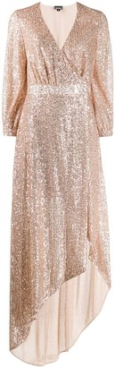 Just Cavalli Sequin Wrap Dress