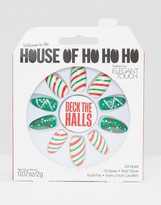 Elegant Touch House Oh Ho Ho Ho Nails By Deck The Halls