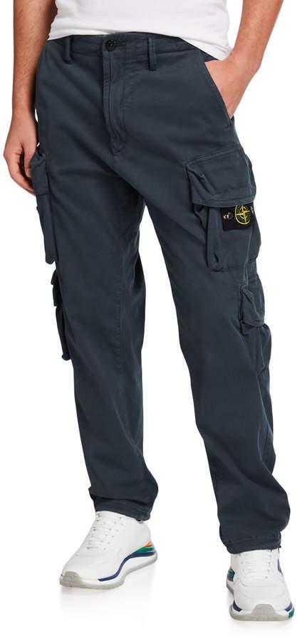 2150a6cb9f699 Men's Stretch-Cotton Cargo Pants