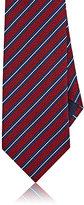 Ermenegildo Zegna Men's Silk Repp Necktie-RED