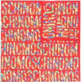 Moschino graphic logo print scarf