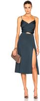 Cushnie et Ochs Gloss Jersey Dress