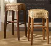 Pottery Barn Seagrass Backless Barstool