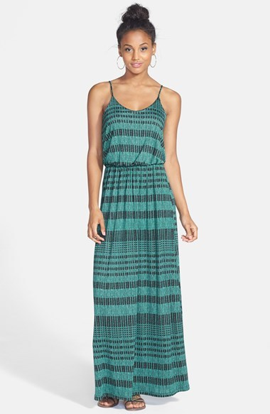 Lush Knit Maxi Dress (Juniors)