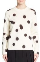 Marc by Marc Jacobs Blurred Polka Dot Sweater