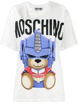 Moschino Transformer Teddy t shirt - women - Cotton - XXS