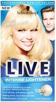 Schwarzkopf LIVE Intense Lightener 00A Absolute Platinum Hair Dye