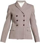 Stella McCartney Olivia double-breasted checked blazer