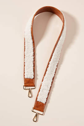 Anthropologie Sherpa Bag Strap