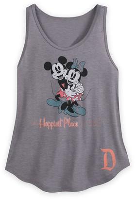 Disney Mouse Scoop Neck Tank Top for Women Disneyland