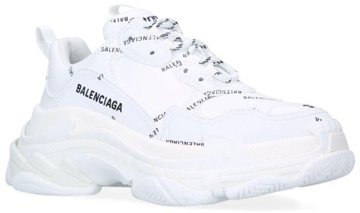 Balenciaga Logo Triple S Sneakers