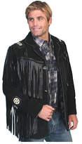 Scully Men's Handlaced Bead Trim Coat 758