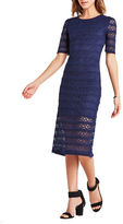 BCBGeneration Laced Body-Con Dress