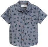 Sovereign Code Roman Short Sleeve Shirt (Toddler & Little Boys)