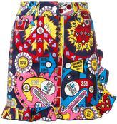 Love Moschino multi print straight skirt