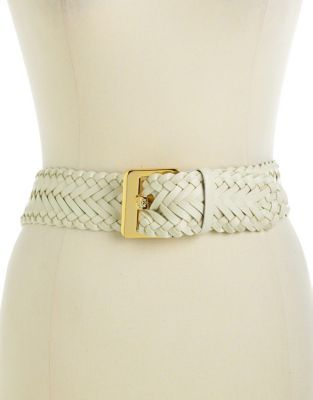 Vince Camuto Woven Leather Belt