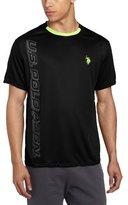 U.S. Polo Assn. Men's Poly Knit T-Shirt