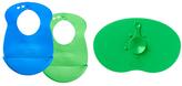 Tommee Tippee Green & Blue Easi Mat & Bib Set