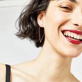 Warehouse Large Diamond Shape Earrings