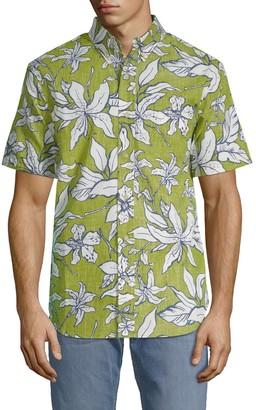 Reyn Spooner Luhiehu Tailored Button-Down Shirt