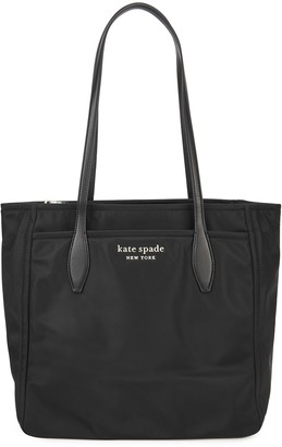 Kate Spade Large black nylon tote