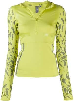 adidas by Stella McCartney printed sleeve jumper