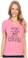 Life is Good You Me Coffee Pocket Sleep Vee