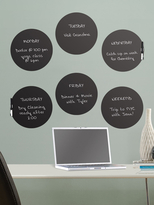 Charcoal Dry Erase Dots