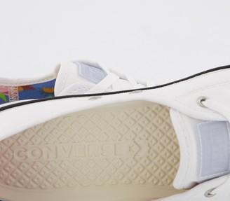 Converse Ctas Ballet Lace Trainers White Multi Black Exclusive