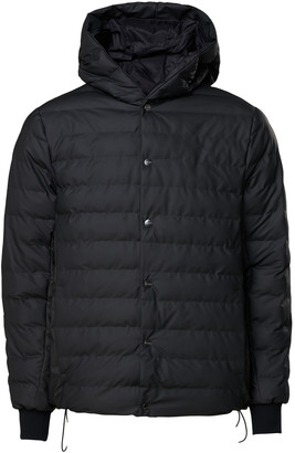 Rains Trekker Hooded Jacket 1530 Black - XXS/XS