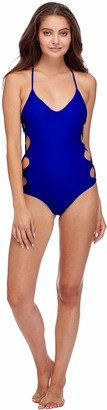 Body Glove Women's Crissy One Piece Swimsuit with Strappy Side Detail