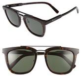 Salvatore Ferragamo Men's 52Mm Sunglasses - Tortoise