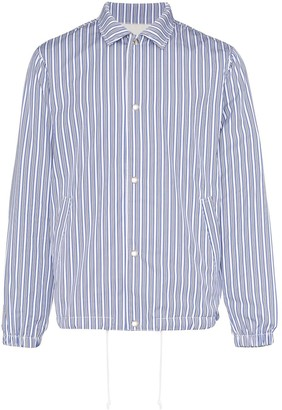 Comme des Garçons Shirt Striped Shirt Jacket