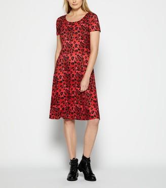 New Look StylistPick Leopard Print Skater Dress