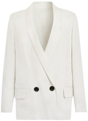AllSaints Rafella Single-Button Blazer
