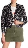 Rebecca Minkoff Wes Floral Leather Moto Jacket